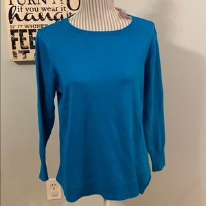 Avenue S 14/16 Soft Knit Sweater Symmetrical Hem